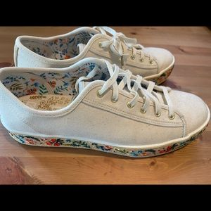 Keds/Rifle Paper Company collaboration shoes 9